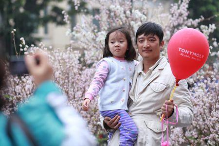 Chen chan ngam hoa anh dao duoi troi mua phun - Anh 4