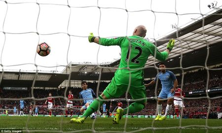 Thang nhe Middlesbrough, Man City vao ban ket FA Cup - Anh 1