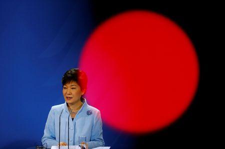 Park Geun Hye va hai lan roi Nha Xanh trong cay dang - Anh 3