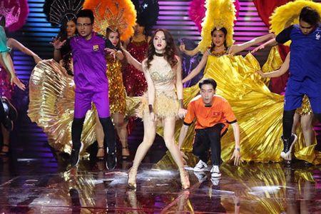 Vi 'say', Huong Giang Idol 'danh bai' Yanbi - Yen Le tai The Remix - Anh 1