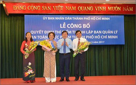 Ban Quan ly An toan thuc pham TP HCM chinh thuc hoat dong - Anh 1