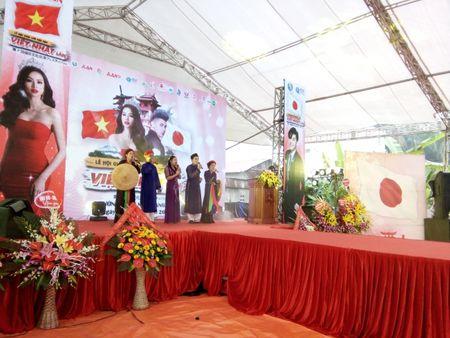 Khai mac Le hoi giao luu van hoa Viet - Nhat lan thu 7 - Anh 1