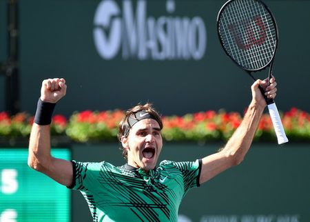 Dang quang o Indian Wells, Federer gianh ngoi vo dich thu 90 - Anh 2
