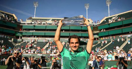 Tennis 24/7: Federer lap cu dup ki luc o Indian Wells - Anh 1