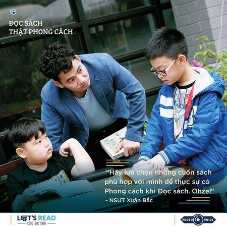 'Doc sach that phong cach' cung cac nhan vat noi tieng - Anh 2