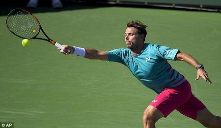 Thang nhanh Wawrinka, Federer lan thu 5 dang quang tai Indian Wells - Anh 1