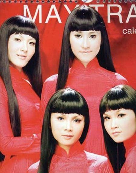 Gian nhau 10 nam, Yen Trang bat ngo chup anh nude cung May Trang - Anh 10