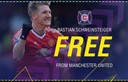 CHINH THUC: Schweinsteiger chia tay Man United - Anh 1