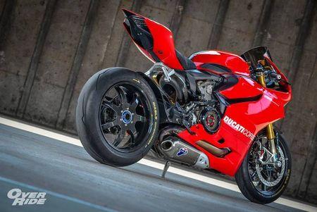 Sieu moto Ducati 1199 Panigale S do 'full do choi' khung - Anh 10