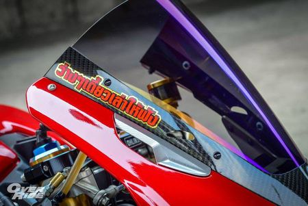 Sieu moto Ducati 1199 Panigale S do 'full do choi' khung - Anh 3