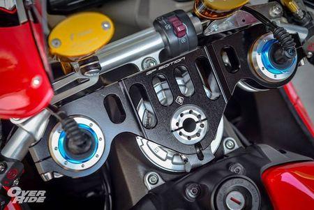 Sieu moto Ducati 1199 Panigale S do 'full do choi' khung - Anh 5