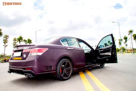 Honda Accord cu 'bien hinh' sieu ngau nho tay tho Viet - Anh 5