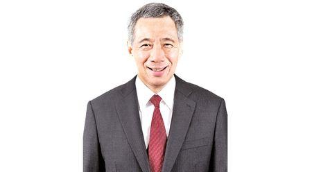 Thu tuong Singapore Ly Hien Long va Phu nhan bat dau tham chinh thuc Viet Nam - Anh 1
