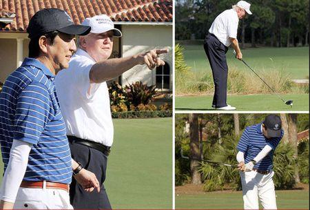 Phe binh Obama, Trump van thuong xuyen den san golf - Anh 2