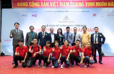 Gameshow khoi nghiep 'Vua ban hang' chinh thuc ra mat - Anh 1