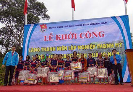 Quang Nam: Hon 8,7 ty dong quy hoach phat trien lang Thanh nien lap nghiep Thanh My - Anh 1