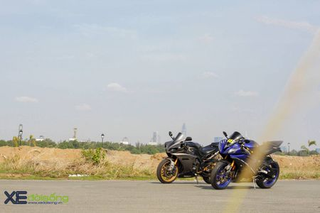 Giap mat cap moto toc do nhat cua Yamaha tai Viet Nam - Anh 1