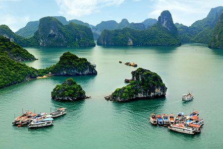 Quang Ninh no luc hut khach den diem quay 'Kong: Skull Island' - Anh 1