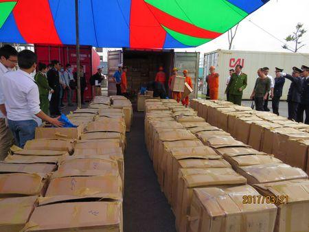 Hai Phong: Bat giu 2,8 tan la Khat doc hai gap 500 lan ma tuy - Anh 1