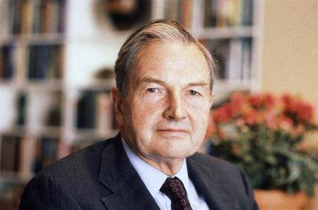 Ty phu David Rockefeller - mot bieu tuong cua nen kinh te chinh tri My - Anh 1