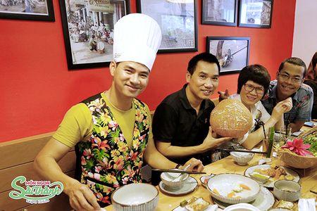 Cung Xuan Bac kham pha Mon ngon Sai Thanh giua long Thu do - Anh 10