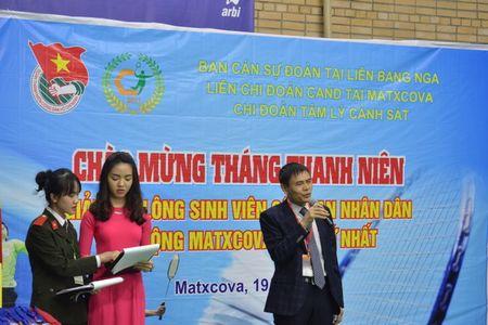 Quang canh giai cau long Cong an mo rong o Moscow lan thu nhat - Anh 4