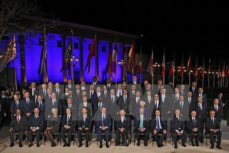 Bo truong G20 tai cam ket cam dieu chinh ty gia mot cach trat tu - Anh 1