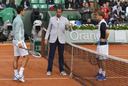 TRUC TIEP Djokovic - Goffin: Nghet tho cuoi set 3 - Anh 8