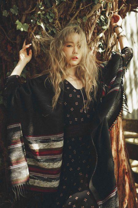 Taeyeon dep sexy khong can khoe da thit - Anh 10