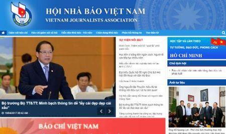 Khai truong Cong Thong tin dien tu Hoi Nha bao Viet Nam - Anh 1
