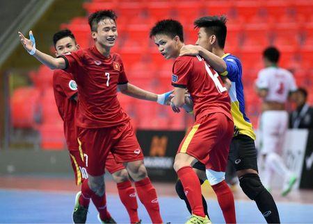 Xem truc tiep tran U20 Futsal Viet Nam - U20 Futsal Dai Loan - Anh 1