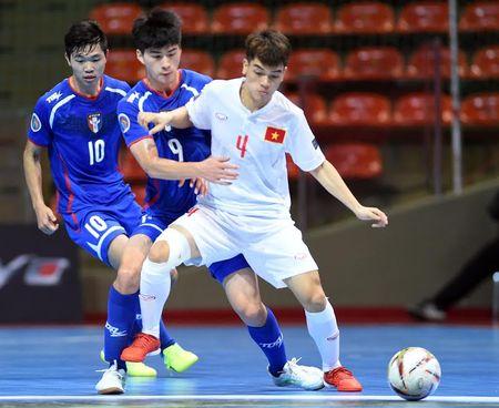 U20 Futsal Viet Nam thang nguoc kho tin Dai Bac Trung Hoa - Anh 2