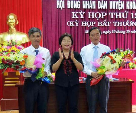 Quang Binh: Chu tich huyen Minh Hoa tiep tuc bi kiem diem - Anh 1
