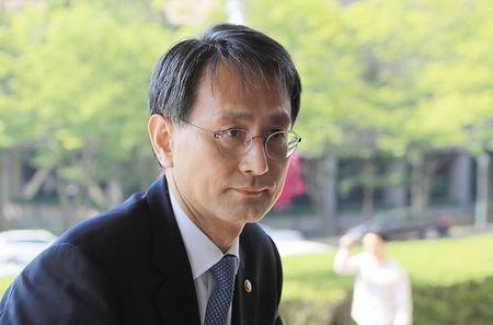 Quyen Bo truong Tu phap Han Quoc Lee Chang-jae tu chuc - Anh 1