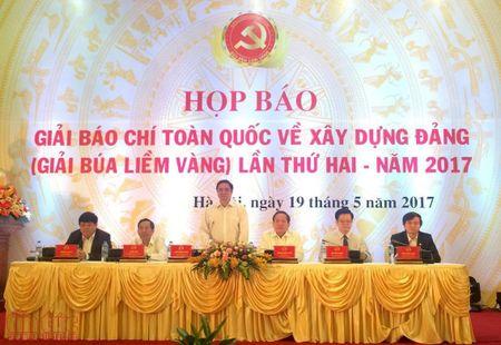 Phat dong Giai bao chi 'Bua liem vang' lan thu 2 nam 2017 - Anh 1