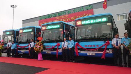 Thay moi tuyen bus 50 va chinh thuc van hanh Deport Mai Dich - XN bus 10-10 - Anh 1