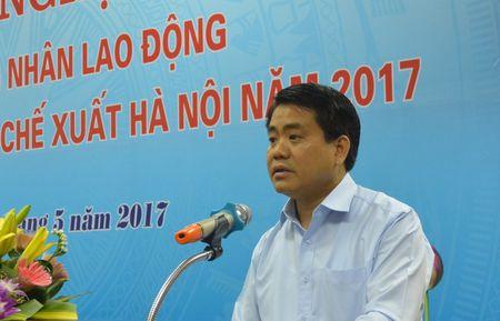 Chu tich Ha Noi: Tong LDLD danh 700-800 ti dong cung TP xay nha o cho cong nhan - Anh 1