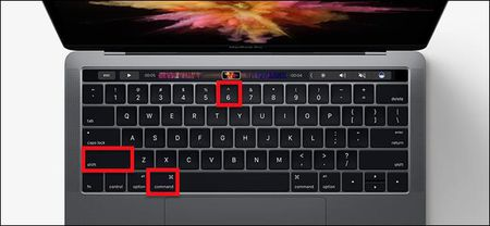 Chup anh man hinh Touch Bar tren Macbook - Anh 1
