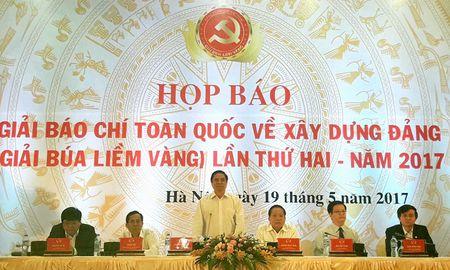 Hop bao Giai bao chi Bua liem vang lan hai - nam 2017 - Anh 1