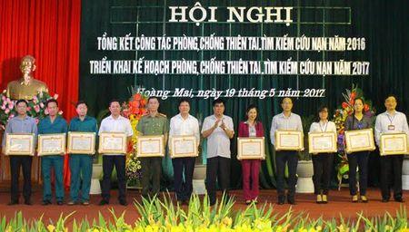 Hoang Mai: Chu dong phong, chong thien tai va tim kiem cuu nan - Anh 1