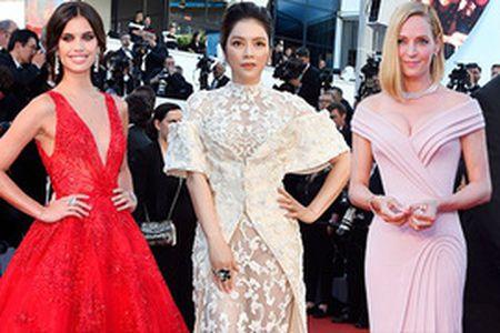 10 sao mac dep nhat le khai mac Cannes 2017 - Anh 2