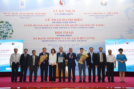 Vuon Quoc gia Bai Tu Long tro thanh Vuon Di san cua ASEAN - Anh 1