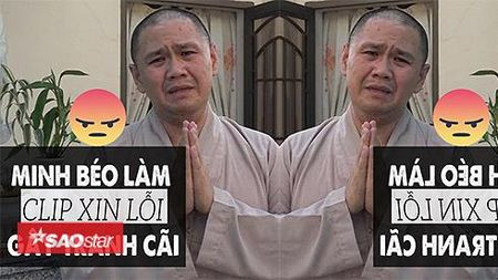 Minh beo lam clip xin loi gay tranh cai - Anh 1
