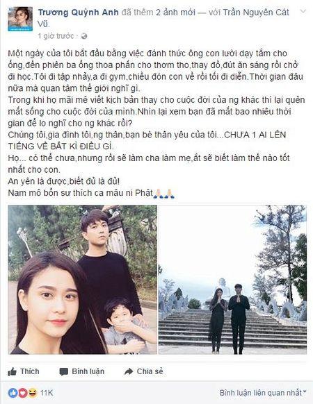 Truong Quynh Anh lan dau len tieng chuyen ly hon: 'Da ai noi gi dau?' - Anh 3