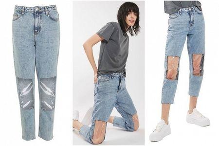 Quan jeans co the 'thao ra lap vao', doc nhung chua chac da dep! - Anh 1
