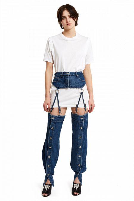 Quan jeans co the 'thao ra lap vao', doc nhung chua chac da dep! - Anh 8