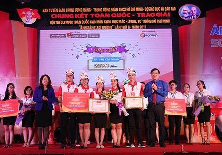 Doi tuyen Thanh pho Ho Chi Minh gianh giai Nhat Hoi thi 'Anh sang soi duong' - Anh 2