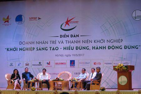 Pho thu tuong Vuong Dinh Hue: Khoi nghiep sang tao can huong toi phuc vu cong dong - Anh 1