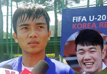 Xuan Truong dong vien va hua den san co vu U20 Viet Nam - Anh 1