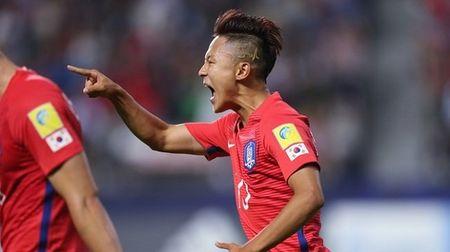 Ha Guinea, Han Quoc gui loi thach thuc toi Argentina - Anh 1
